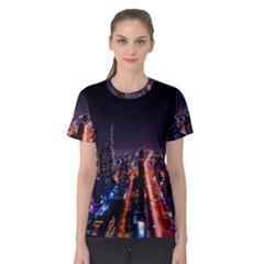 Dubai Cityscape Emirates Travel Women s Cotton Tee