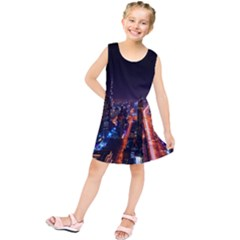 Dubai Cityscape Emirates Travel Kids  Tunic Dress
