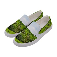 Bali Rice Terraces Landscape Rice Women s Canvas Slip Ons by Nexatart