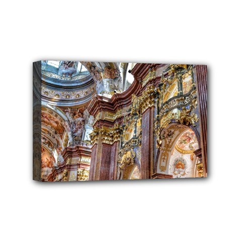 Baroque Church Collegiate Church Mini Canvas 6  X 4