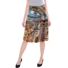Baroque Church Collegiate Church Midi Beach Skirt