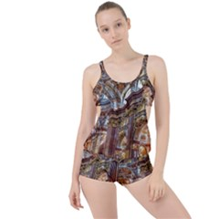 Baroque Church Collegiate Church Boyleg Tankini Set