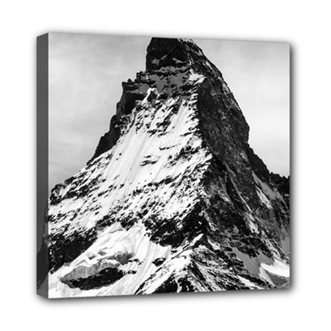 Matterhorn Switzerland Mountain Mini Canvas 8  X 8