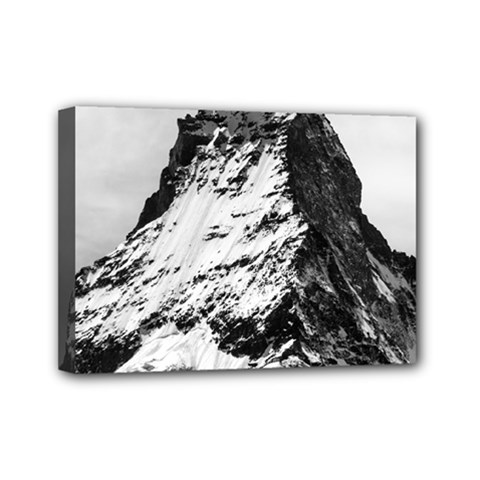 Matterhorn Switzerland Mountain Mini Canvas 7  X 5