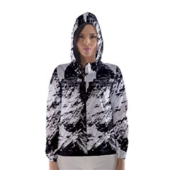 Matterhorn Switzerland Mountain Hooded Wind Breaker (women)