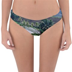 Rice Terrace Rice Fields Reversible Hipster Bikini Bottoms