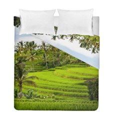 Rice Terrace Terraces Duvet Cover Double Side (full/ Double Size)