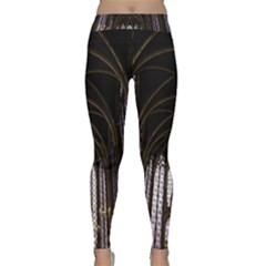 Sainte Chapelle Paris Stained Glass Classic Yoga Leggings by Nexatart