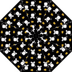 Cute Mouse Pattern Golf Umbrellas