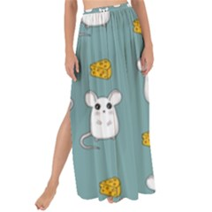 Cute Mouse Pattern Maxi Chiffon Tie Up Sarong