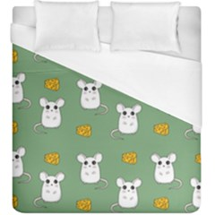 Cute Mouse Pattern Duvet Cover (king Size)