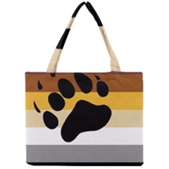 Bear Pride Flag Mini Tote Bag by Valentinaart