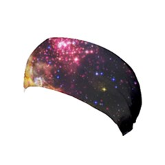 Space Colors Yoga Headband by ValentinaDesign