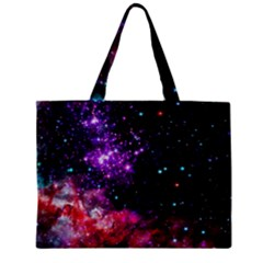 Space Colors Zipper Mini Tote Bag by ValentinaDesign