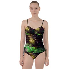 Space Colors Sweetheart Tankini Set by ValentinaDesign