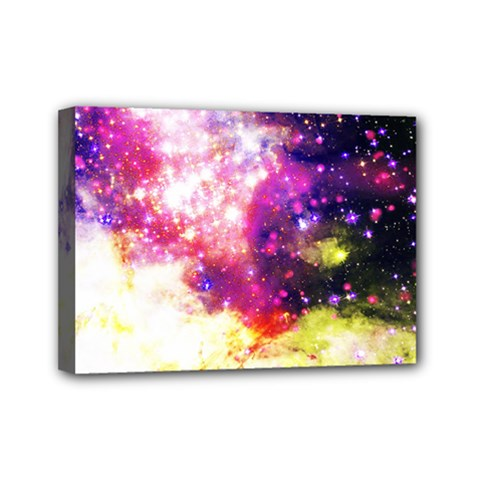 Space Colors Mini Canvas 7  X 5  by ValentinaDesign