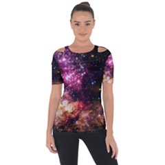 Space Colors Short Sleeve Top