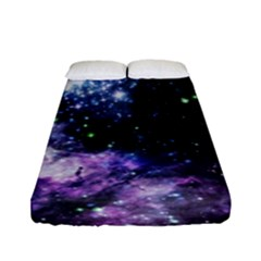 Space Colors Fitted Sheet (full/ Double Size) by ValentinaDesign
