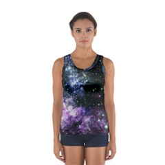 Space Colors Sport Tank Top  by ValentinaDesign