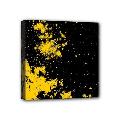 Space Colors Mini Canvas 4  X 4  by ValentinaDesign