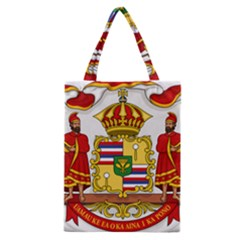 Kingdom Of Hawaii Coat Of Arms, 1850 1893 Classic Tote Bag by abbeyz71