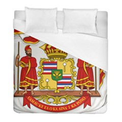 Kingdom Of Hawaii Coat Of Arms, 1850 1893 Duvet Cover (full/ Double Size) by abbeyz71