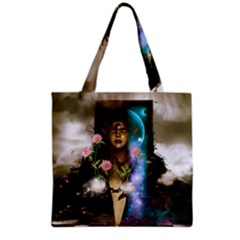 The Wonderful Women Of Earth Grocery Tote Bag by FantasyWorld7