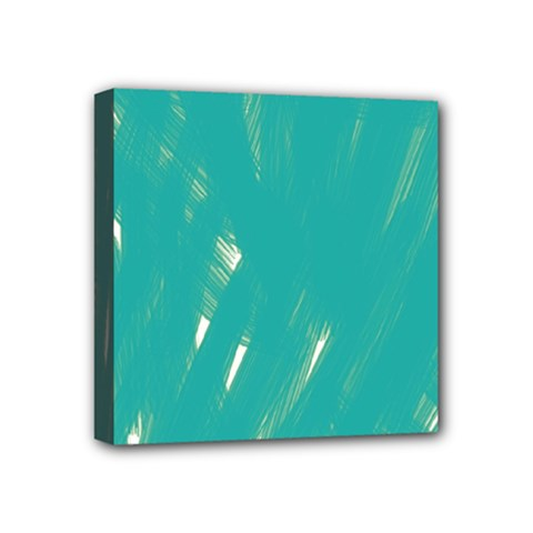 Background Green Abstract Mini Canvas 4  X 4