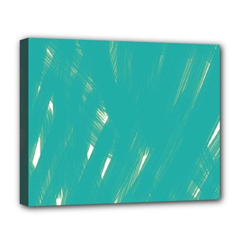 Background Green Abstract Deluxe Canvas 20  X 16   by Nexatart