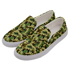Camo Woodland Men s Canvas Slip Ons by sifis