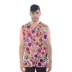 Lovely Shapes 2a Men s Basketball Tank Top