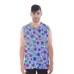 Lovely Shapes 3b Men s Basketball Tank Top by MoreColorsinLife