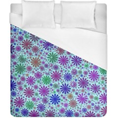 Lovely Shapes 3b Duvet Cover (california King Size) by MoreColorsinLife