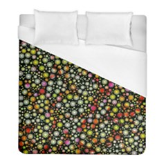 Lovely Shapes 4b Duvet Cover (full/ Double Size) by MoreColorsinLife