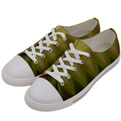 Zig Zag Chevron Classic Pattern Men s Low Top Canvas Sneakers by Nexatart