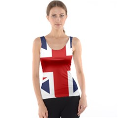 Uk Flag United Kingdom Tank Top