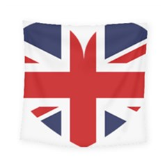 Uk Flag United Kingdom Square Tapestry (small) by Nexatart