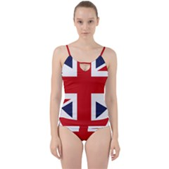 Uk Flag United Kingdom Cut Out Top Tankini Set