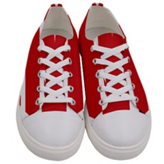 Uk Flag United Kingdom Men s Low Top Canvas Sneakers