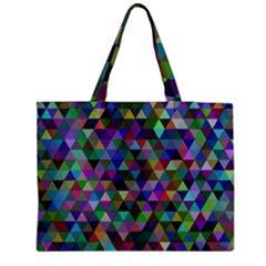 Triangle Tile Mosaic Pattern Medium Tote Bag by Nexatart