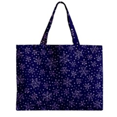 Pattern Circle Multi Color Zipper Mini Tote Bag
