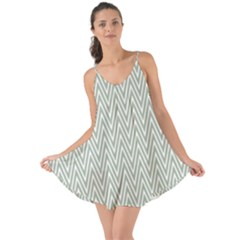 Vintage Pattern Chevron Love The Sun Cover Up
