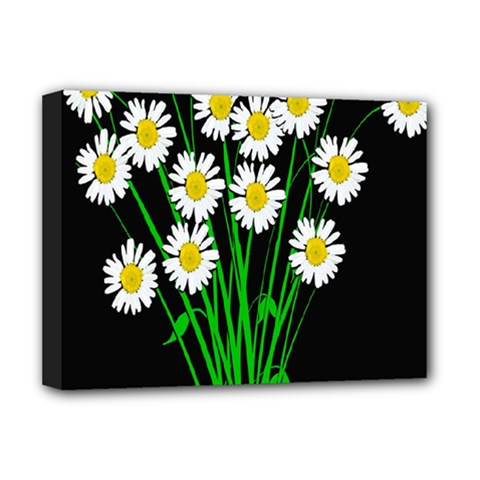 Bouquet Geese Flower Plant Blossom Deluxe Canvas 16  X 12