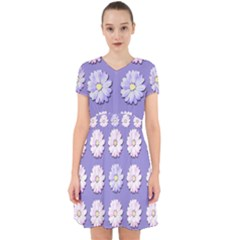 Daisy Flowers Wild Flowers Bloom Adorable In Chiffon Dress
