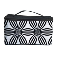 Seamless Pattern Repeat Line Cosmetic Storage Case