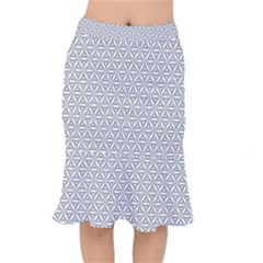Seamless Pattern Monochrome Repeat Mermaid Skirt by Nexatart