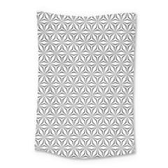 Seamless Pattern Monochrome Repeat Small Tapestry by Nexatart