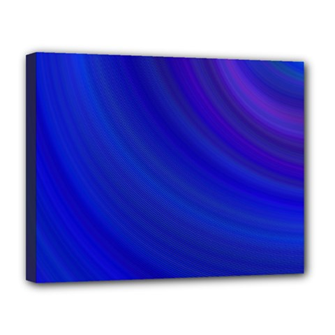 Blue Background Abstract Blue Canvas 14  X 11  by Nexatart