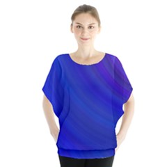 Blue Background Abstract Blue Blouse
