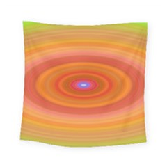 Ellipse Background Orange Oval Square Tapestry (small) by Nexatart